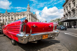 View of Car in Havana