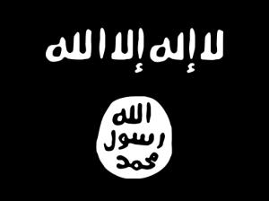 The haunting flag of this 'rouge terror'