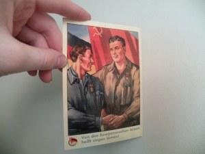 East German Postcard One