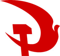 The emblem used by Communist Party of Britain
